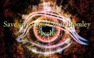 Gem op til 15% Off ved Bromley Psychic