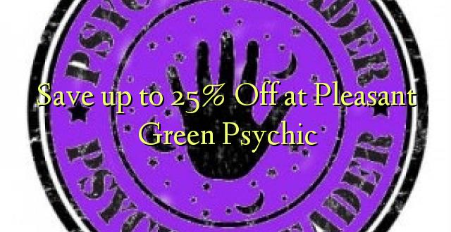 Okoa hadi 25% Off at Pleasant Green Psychic