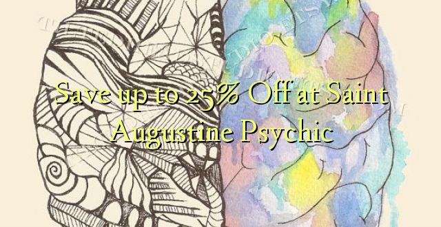 Hifadhi hadi 25% Toa kwenye Saint Augustine Psychic