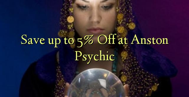 Okoa hadi 5% Off at Anston Psychic