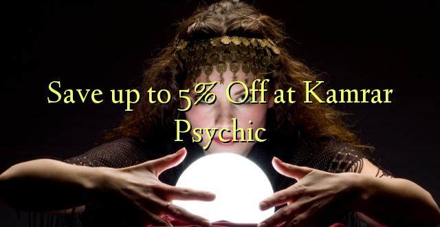 Okoa hadi 5% Off at Kamrar Psychic