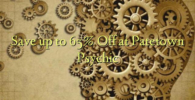 Okoa hadi 65% Okoa huko Pat Town Psychic