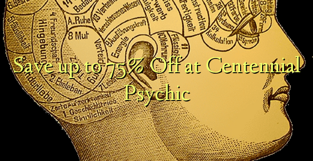 Okoa hadi 75% Off at Centennial Psychic