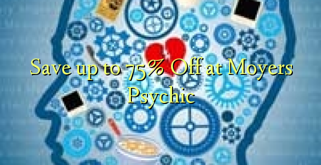 Okoa hadi 75% Off at Moyers Psychic