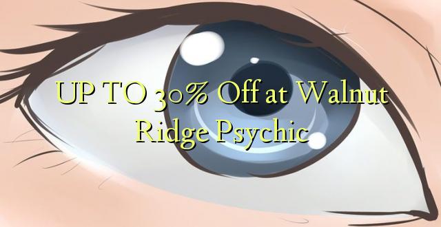 OP TIL 30% Off på Walnut Ridge Psychic