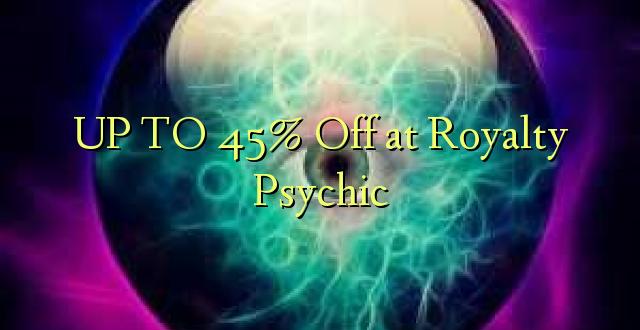 Hadi 45% Off at Royalty Psychic