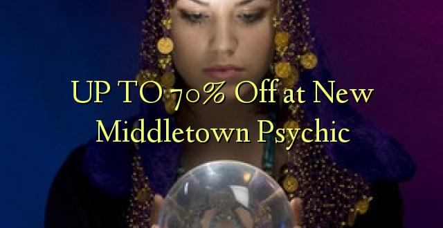 Hadi kufikia 70% Off at New Middletown Psychic