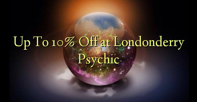 Hadi kwa 10% Toa kwenye Londonderry Psychic