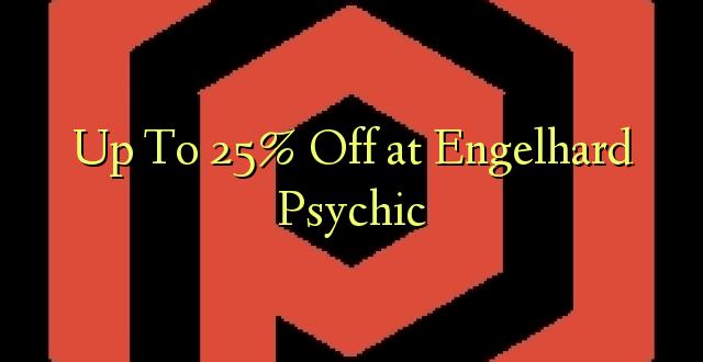 Hadi Kwa 25% Toa kwenye Engelhard Psychic