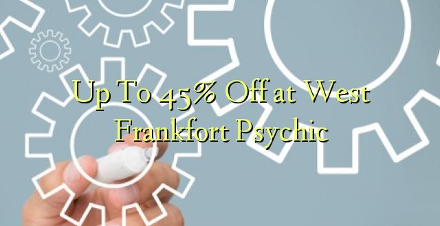 Hadi 45% iko huko West Frankfort Psychic