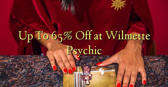 Hadi 65% iko katika Wilmette Psychic