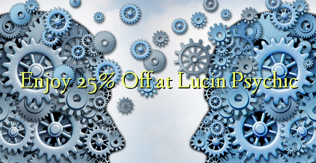 Lucin Psychic baudiet 25% Off