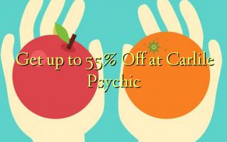Pata hadi 55% Toka kwenye Carlile Psychic