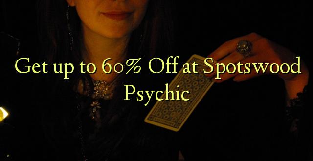 Atrodi līdz 60% Off pie Spotswood Psychic