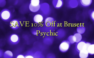 Gem 10% Off ved Brusett Psychic