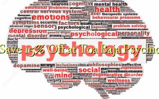 Сохранить 15% Off в Toa Baja Psychic