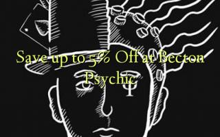 Gem op til 5% Off på Becton Psychic