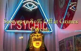 Сэкономьте до 80% Off в Grimes Psychic