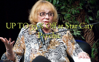 UP TO 35% Toka kwenye Star City Psychic