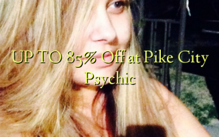 UP TO 85% Kutoa kwenye Pili City Psychic