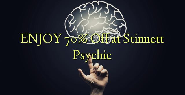 ENJOY 70% pie Stinnett Psychic