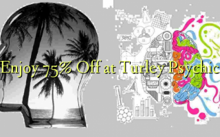 Enjoy 75% Off at Turley Psychic