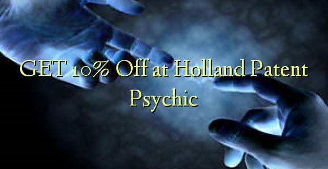 Pata 10% Toka kwenye Uholanzi Patent Psychic