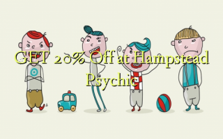 GET 20% Off no Hampstead Psychic