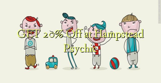 Pata 20% Toka kwenye Hampstead Psychic
