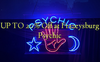 UP TO 20% Off i Frachysburg Psychic