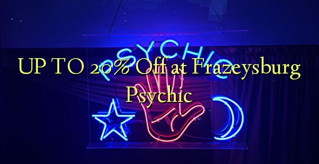 UP TO 20% Toa kwenye Frazeysburg Psychic
