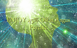 Nyd 45% Off ved Angus Psychic