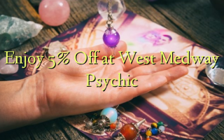 Izbaudiet 5% Off pie West Medway Psychic