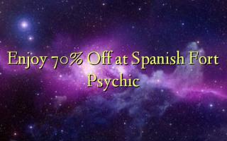 Получите скидку 70% в испанском Форт Психик
