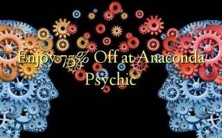 Nyd 75% Off på Anaconda Psychic