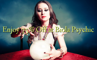 Nyd 75% Off på Biola Psychic