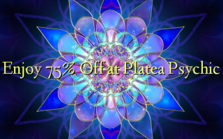 Enjoy 75% Off at Platea Psychic