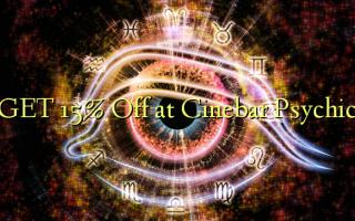 GET 15% Off på Cinebar Psychic