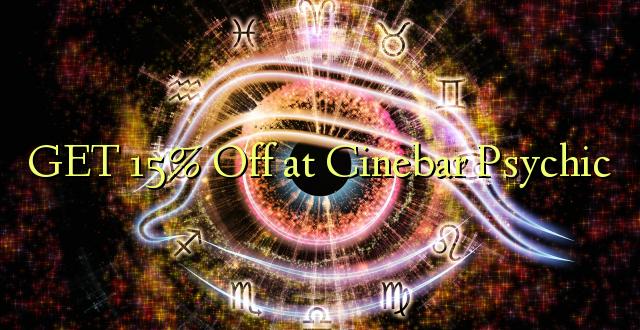 Pata 15% Toka kwenye Cinebar Psychic