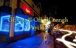 GET 20% Off på Conrath Psychic