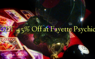 GET 45% Off på Fayette Psychic
