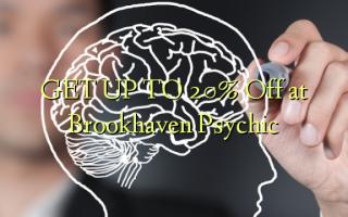 FÅ OP TIL 20% Off ved Brookhaven Psychic