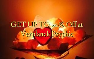 FÅ OP TIL 20% Off på Verplanck Psychic