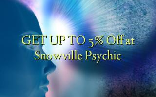 FÅ OP TIL 5% Off på Snowville Psychic