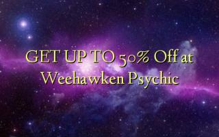 Weehawken Psychic-də 50% -ə qədər endir
