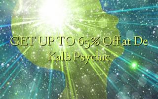 FÅ OP TIL 65% Off på De Kalb Psychic