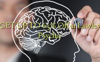 FÅ OP TIL 65% Off på Lawley Psychic