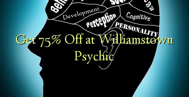 Få 75% Off på Williamstown Psychic
