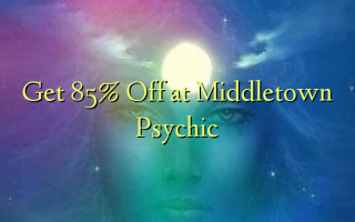 Få 85% Off på Middletown Psychic