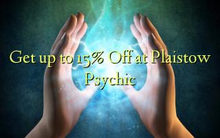 Få op til 15% Off på Plaistow Psychic